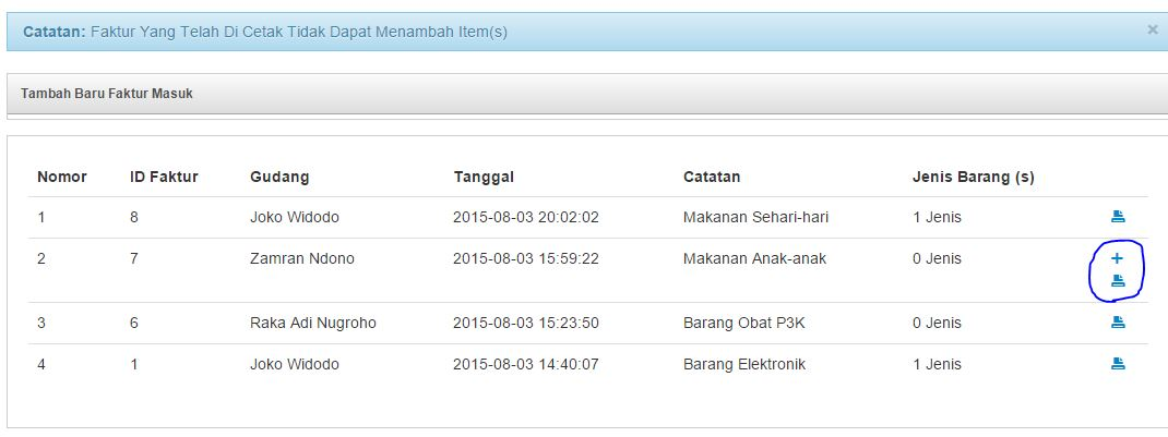 Aplikasi Sistem Pendataan Gudang Dengan Php Oop Mysql Bootstrap Raka Adi Nugroho