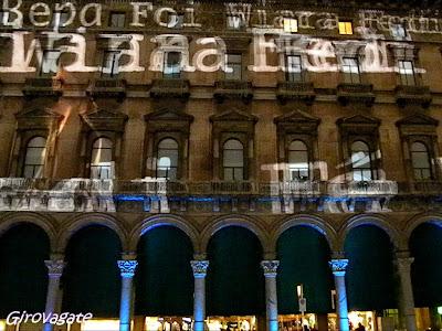 luci laser Milano