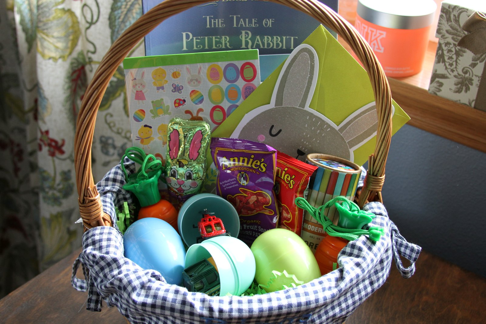 Life alaskan style basket full of goodies toddler easter basket basket full of goodies toddler easter basket ideas negle Gallery