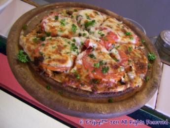 Tomato Basil Pizza: