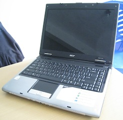 jual notebook bekas acer aspire 5570