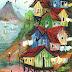 Favela, pintada com o pé.