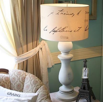 Manualiadades c mo decorar una pantalla de l mpara - Pantallas de lamparas ...