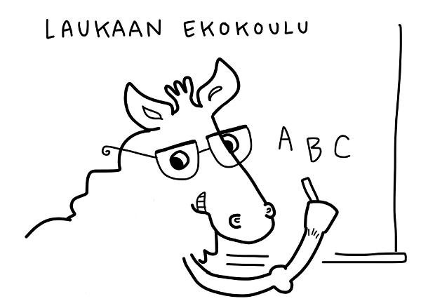 Ekokoulu Laukaaseen!