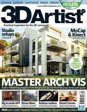 3DArtist Magazine Issue 40 2012