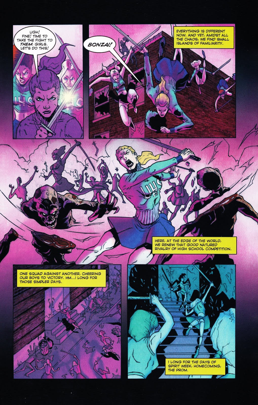 Zombies vs Cheerleaders Issue #2 Page 10