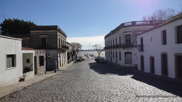 Rua de Colonia del Sacramento - Uruguai