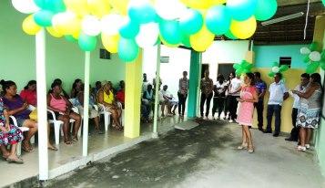 Equipe de Trabalho do CRAS Santa Rita é apresentada à comunidade