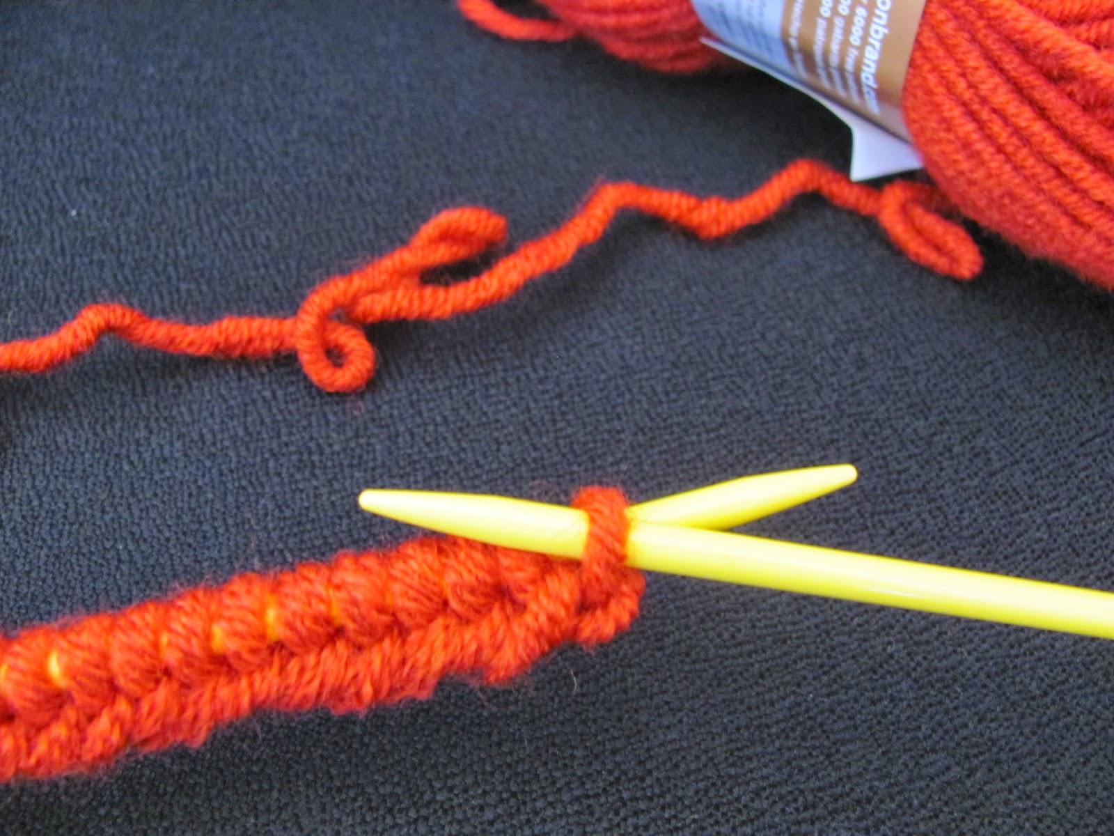 J'aimerais apprendre à tricoter avec une aiguille circulaire, et faire des