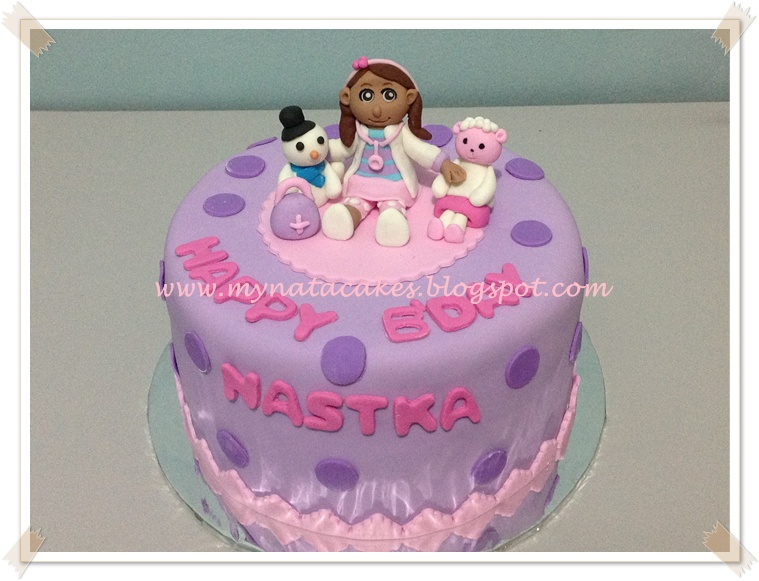 Mynata Cakes dr mc Stuffin birthday cake for Nastka
