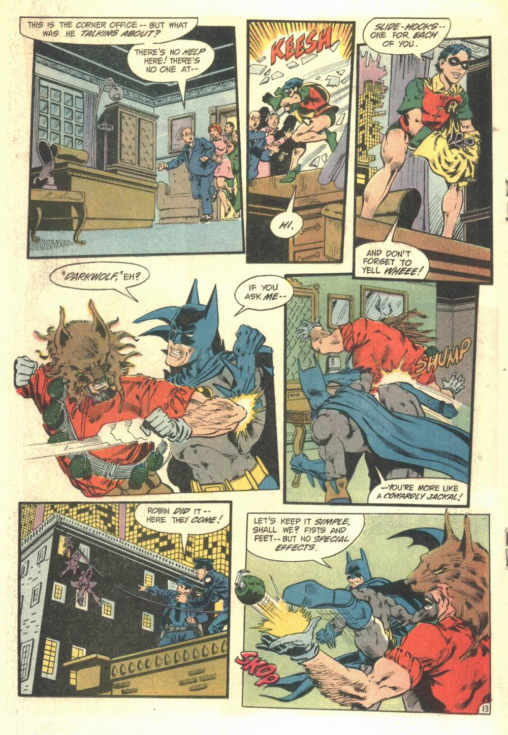 Detective Comics (1937) Issue #548 Page 14