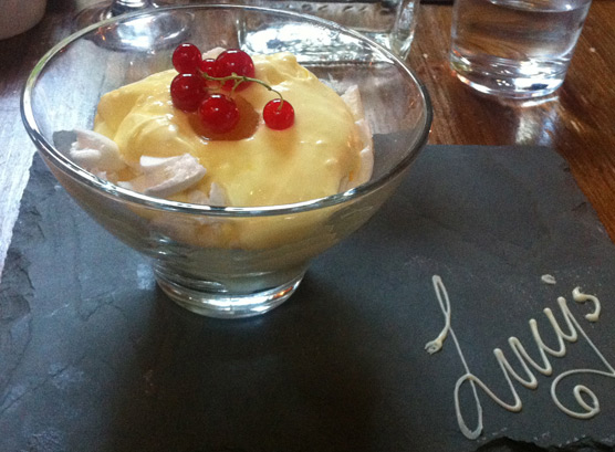 Lucy's of Ambleside Up the Duff Pudding Club - Lemon and Ginger Eton Mess