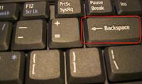 Backspace key Virus