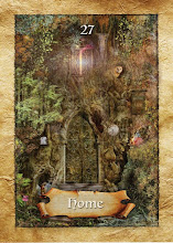 Today's Oracle Card..Your feet will bring you to where your heart is.Home is a feeling,not a place.