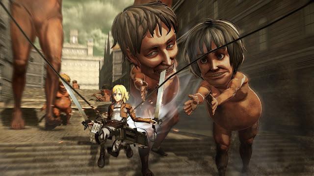 Game 'Attack on Titan' Ungkap Trailer Terbaru Bersama Dengan Tanggal Rilis