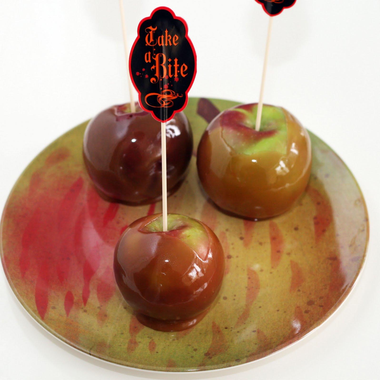 Recipes by Rachel Rappaport: Vanilla Bean Caramel Apples