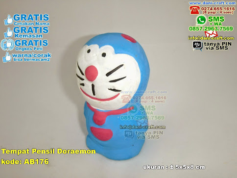 Tempat Pensil Doraemon