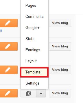 Cara Tukar Template Blog dengan Mudah