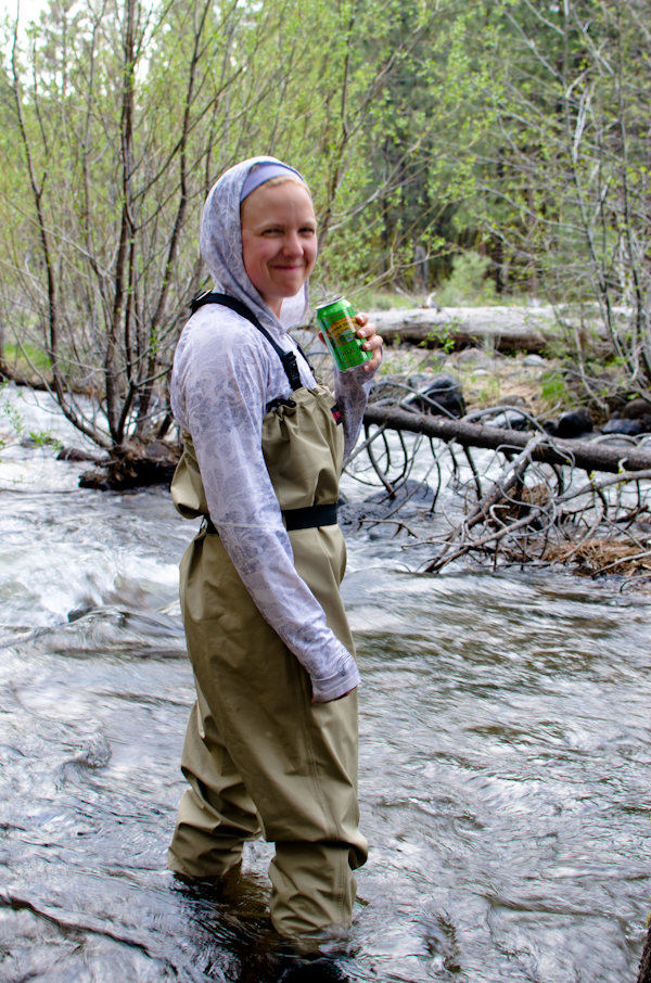The sour cream theory fly fishing hat creek for Hat creek fishing