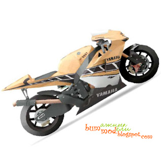 бумажная модель мотоцикл