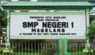 SMPN 1 Kota Magelang yang mampu meraih meraih nilai indeks integritas Ujian Nasional SMP