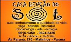 CASA BENÇÃO DO SOL