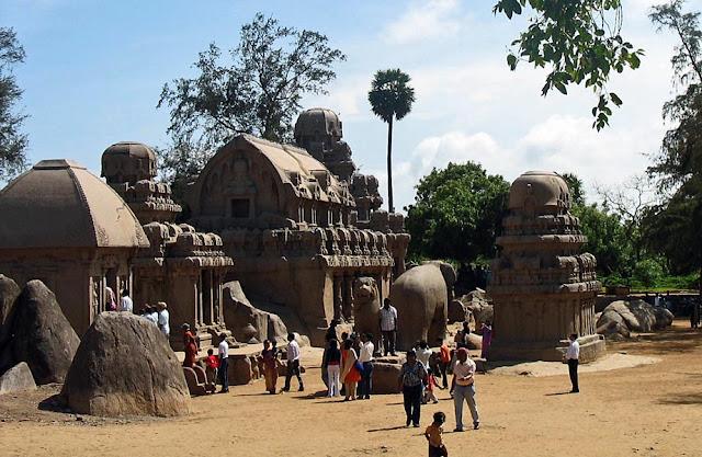 Mahabalipuram group temples