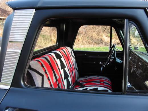 The Analog Almanac Mexican Blanket Car Interiors