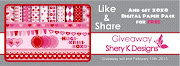 GIVEAWAY AT SHERY K DESIGNS
