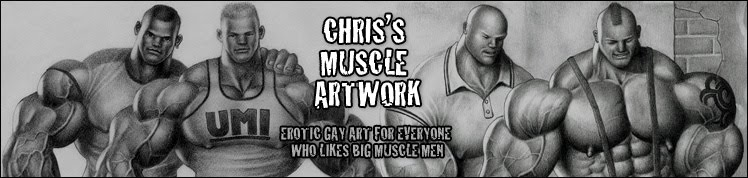 Chris's Muscle Artwork