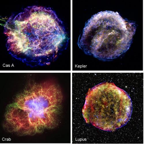 Resultado de imagen de Remanentes de supernovas