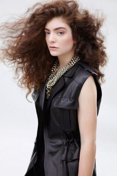 Lorde en la revista ELLE
