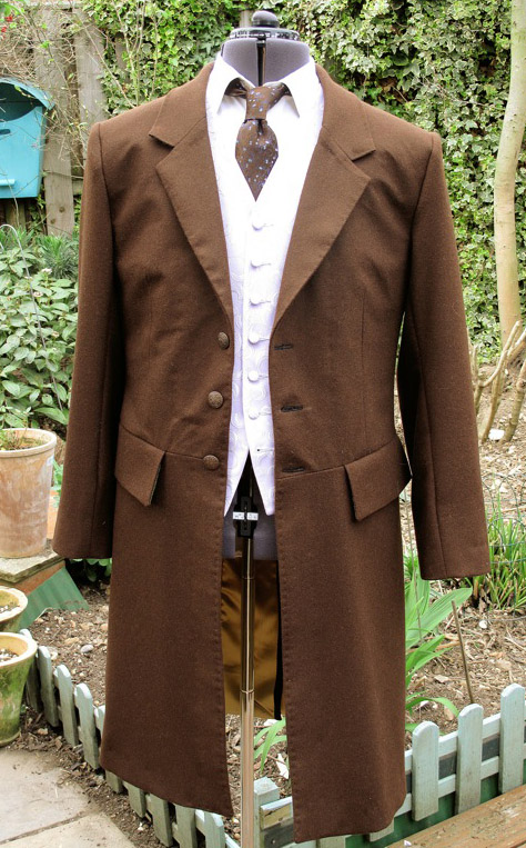 I Have Already Made One Or Two Frock Coats To Patterns Use But Using Cloth At The Choice Of Client And These Inspired My Latest Commissions