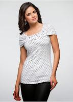 Tricou realizat dintr-un jerse delicat (bonprix)