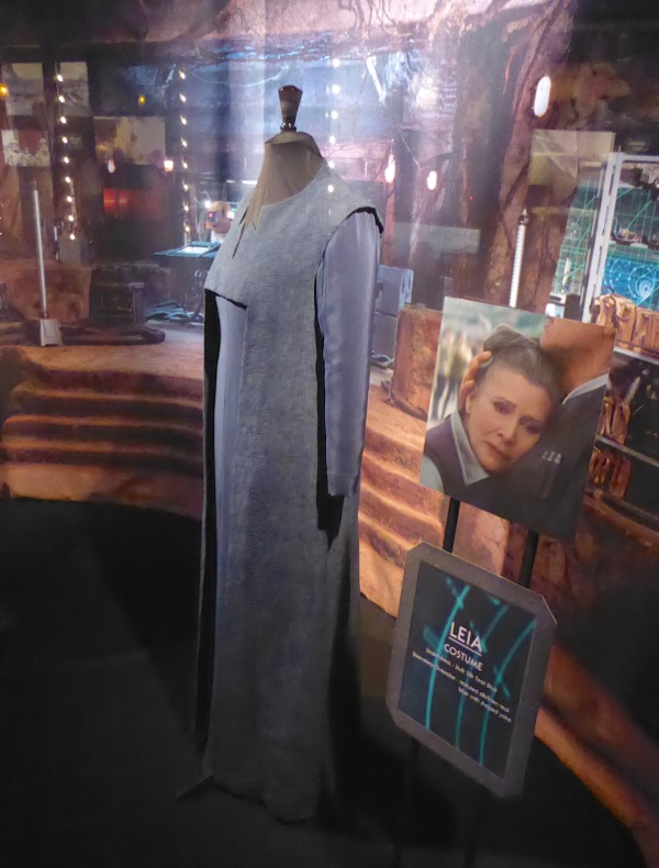 Star Wars Force Awakens General Leia Organa costume