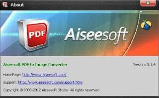Aiseesoft PDF to Image Converter 3.1.6