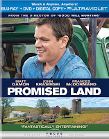 Promised Land Matt Damon Blu-Ray DVD