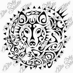 Blu sky tattoo studio maori significato 3 - Contorno squalo martello ...