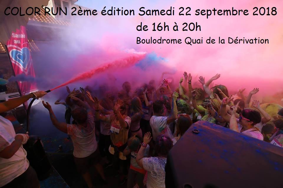Color'Run 2ème édition samedi 22 septembre 2018 de 16h à 20h