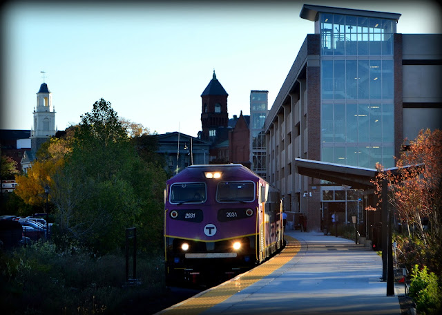 MBTA, Intermodal, Commuter Rail, Station, Salem, Massachusetts