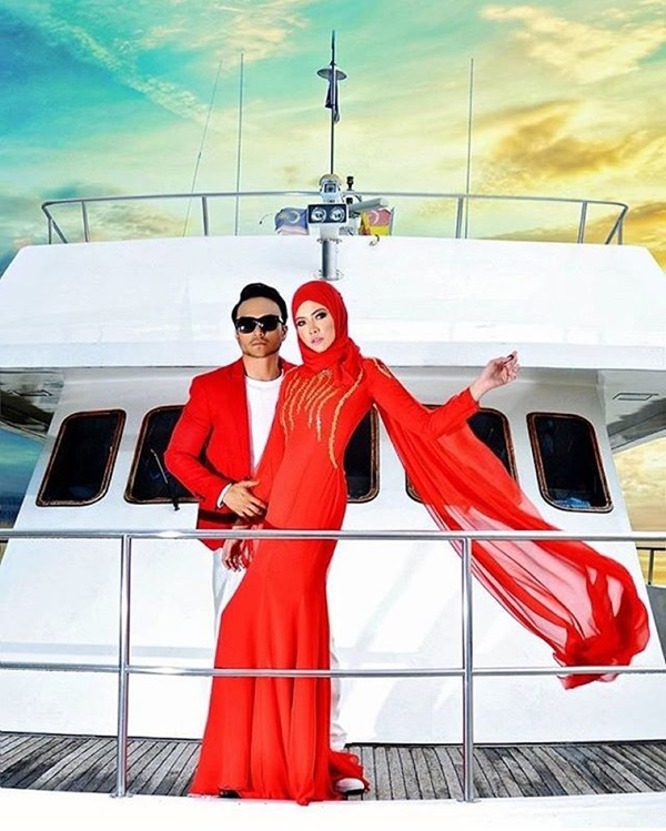 EKSKLUSIF! Lagi Gambar Pra Wedding Shaheizy Sam, Syatilla Melvin Yang Memukau... Fuhh!!