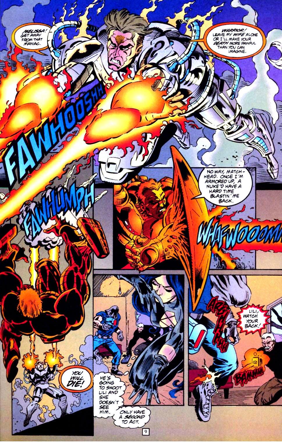 Deathstroke (1991) Issue #44 #49 - English 10