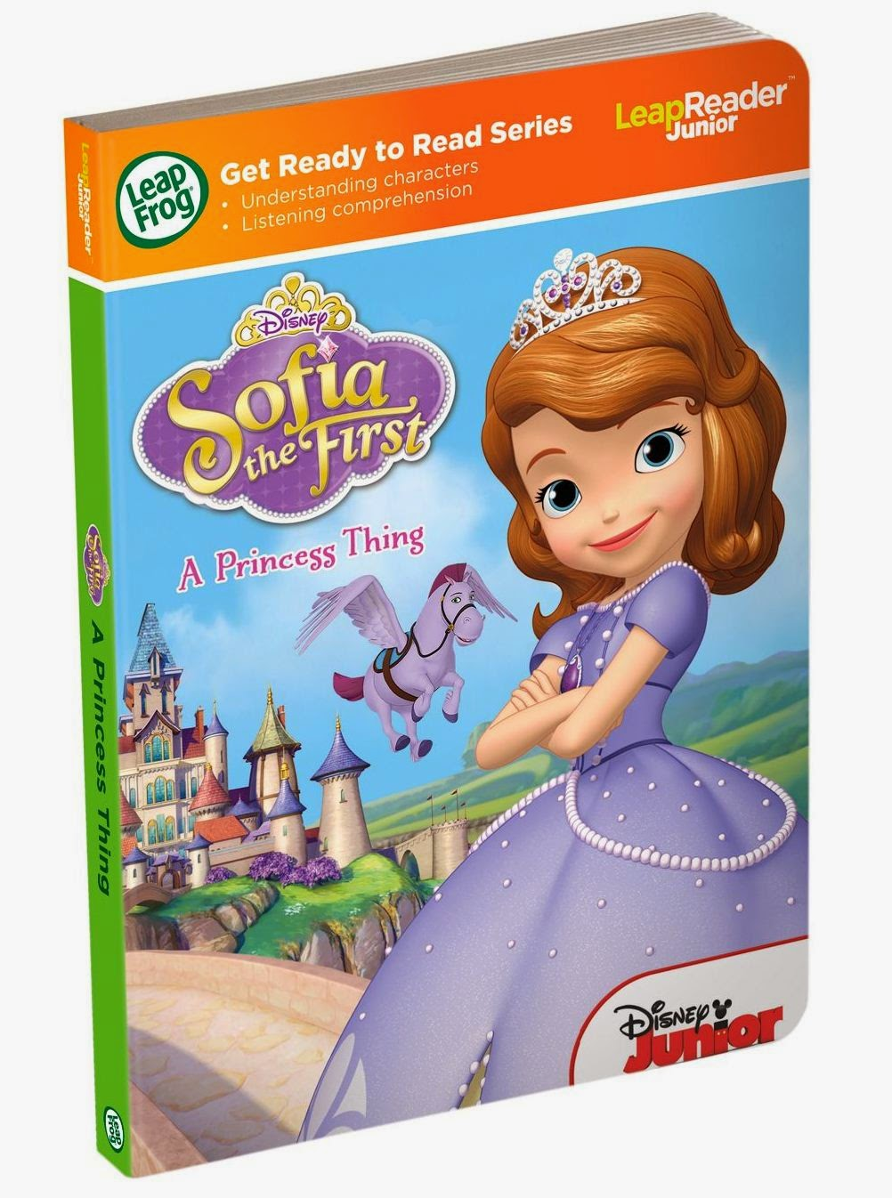 LeapReader Junior Sofia the FIrst book