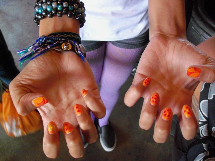 Nail Art Create Nail Designs From Dragon Ball Z