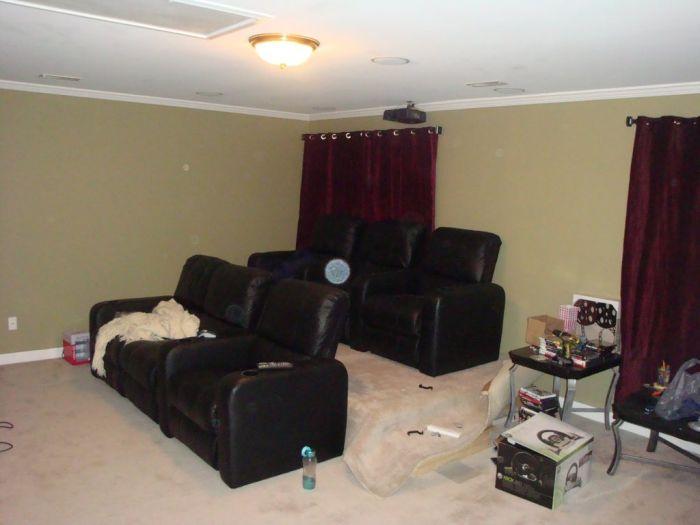 C mo crear tu propia sala de cine en casa taringa - Como crear tu casa ...