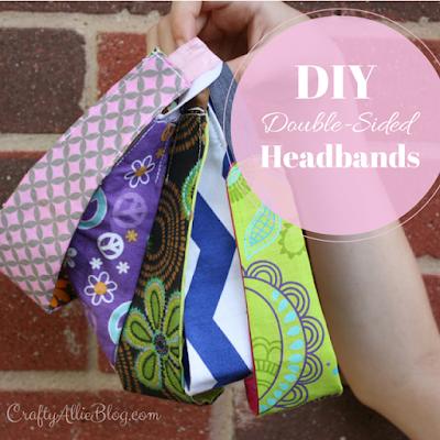 double sided fabric headbands