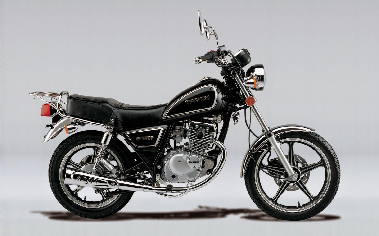 Moto Suzuki Gn  Caracteristicas