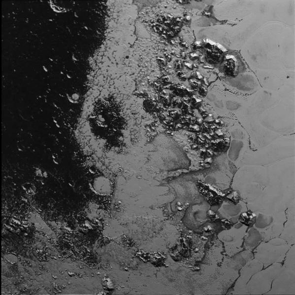 Segunda cordillera en el 'corazón' de Plutón