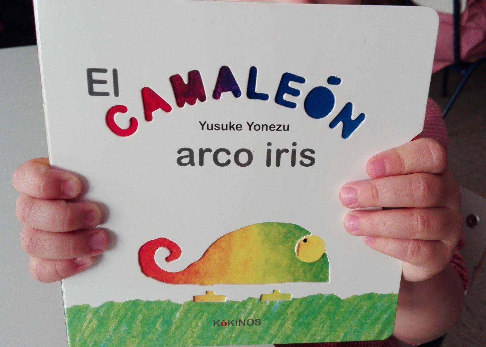 Pintando sonrisas de colores: El camaleón arco iris. Yusuke Yonezu ...