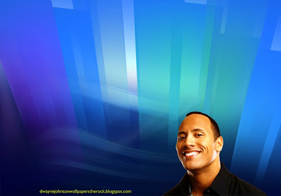 Desktop Wallpapers of Dwayne Johnson The Rock Smiling in Crystal Landscape
